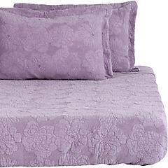 Quilt Melange Jersey rosa 2 plazas