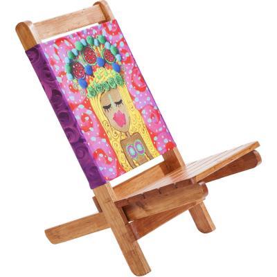 Silla madera 35x69 cm for Sillas ergonomicas sodimac