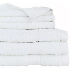 Juego de toallas de baño y mano 450 gr 2 unidades blanco