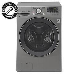 Lavadora secadora carga frontal 15/8 kg gris