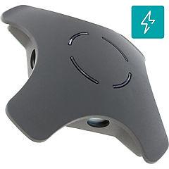 Farol de muro LED 5 W Negro