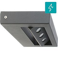 Farol de muro LED 7,5 W Gris