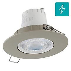 Spot LED empotrado 5,5 W luz fría Satinado
