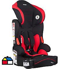 Silla infantil para auto desde 2 años tela Rojo