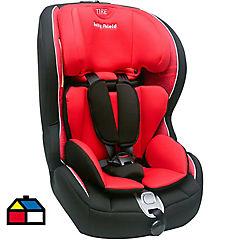 Silla infantil para auto 1 a 5 años tela Rojo