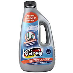 Destapa cañerías líquido 1 litro botella