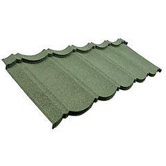 Teja Inppa 460x1178 mm verde y negro
