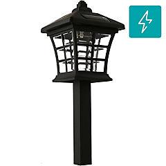 Estaca solar LED negro
