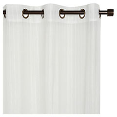 Set de cortinas Amapola 140x220 cm 2 paños blanco