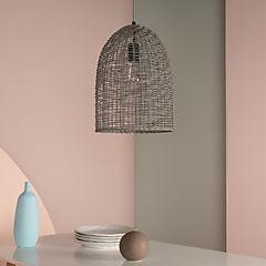 Lámpara colgante Tivoli 1 luz gris