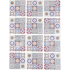 Sticker decorativo Marruecos 15x15 cm 12 unidades