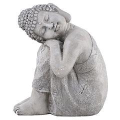 Buda durmiendo de poliresina 30x40x48 cm