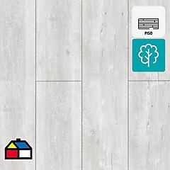 Piso flotante 8 mm XXL gris 128,5x32,7 cm 2,52 m2