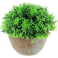 Arreglo de flores artificiales plástico Verde