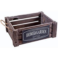 Caja rectangular madera 26x18,5x10 cm
