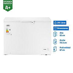 Congelador industrial horizontal 295 litros blanco
