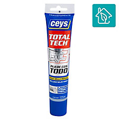 Sellador de poliuretano 125 ml transparente