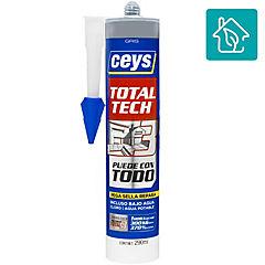 Sellador de poliuretano 290 ml gris