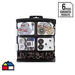 Kit de accesorios para herramientas multipropósito 70 piezas