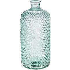 Botella decorativa vidrio 42x18 cm