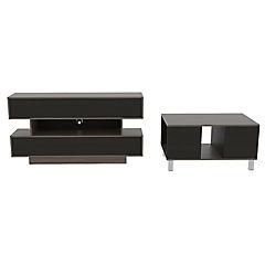 Combo de rack de TV + mesa de centro