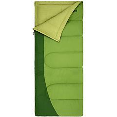 Saco de dormir 210x77 cm poliéster Verde