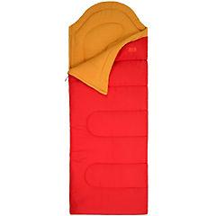Saco de dormir 190x85 cm poliéster Rojo