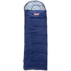 Saco de dormir 208x81 cm poliéster Azul