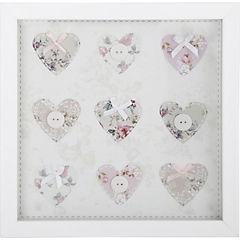 Cuadro Corazón 30x30x4 cm