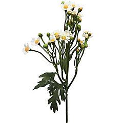 Vara mini Daisy artificial blanco 63 cm