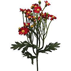 Vara mini Daisy artificial rojo 63 cm