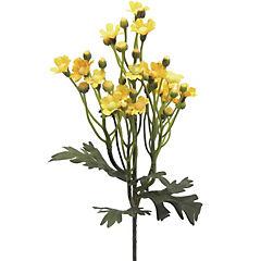 Vara mini Daisy artificial amarillo 63 cm