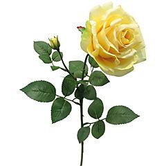 Flor artificial rosa bella amarillo 70 cm