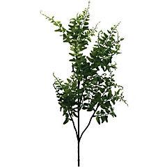 Vara artificial hoja helecho verde 78 cm