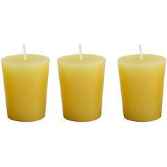 Set de 3 Vela votiva aroma limón