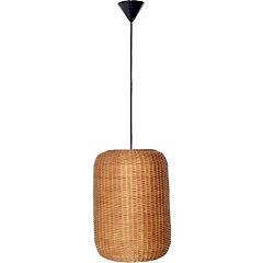 Lámpara colgante tubo natural