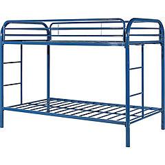 Camarote metálico 1,5 plazas azul