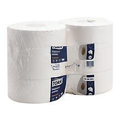 Higiénico jumbo premium 6 rollos x 250 metros hoja doble