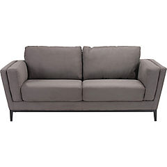 Sofa Modern 210x92x89 cm gris oscuro