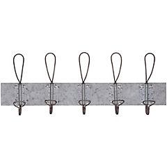 Perchero 14x8,5x65,6 cm gris