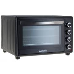WURDEN - Horno eléctrico 60 litros negro
