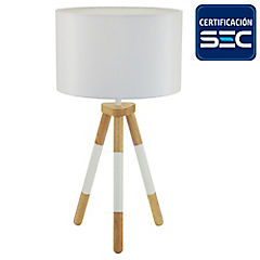 Lámpara de mesa Oslo 1 l E27 18 W