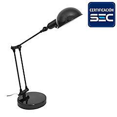 Lámpara de escritorio Kansas negra 1 l E14 25 W