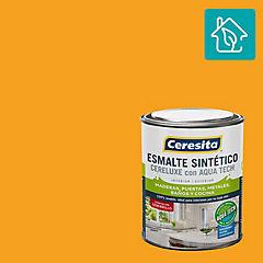 Esmalte sintético 1/4 gl semibrillo amarillo