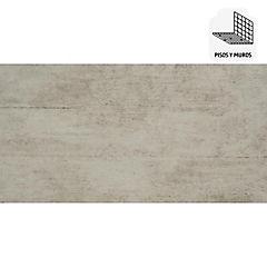 Gres porcelanato 30X60 cm Walk gris 1,44 m2