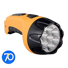 Linterna recargable LED 7 luces