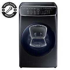 Lavadora secadora carga frontal 22/13 kg negro