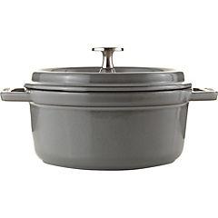 Cacerola hierro 18 cm 1,7 litros gris