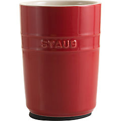 Contenedor de alimentos cerámica 0,9 litros cherry