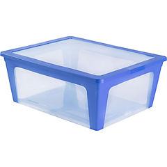 Caja 21 litros 44x17x45 cm azul